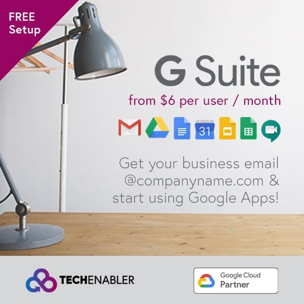 TechEnabler - G Suite Services